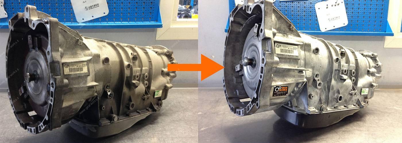 Tagliano, revisione e riparazione di cambi automatici - GEARWORKS Bergamo