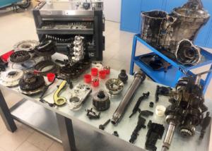 Cambio automatico 0b5, Audi, Meccatronica, frizioni, attuatore, revisione, riparazione, problemi