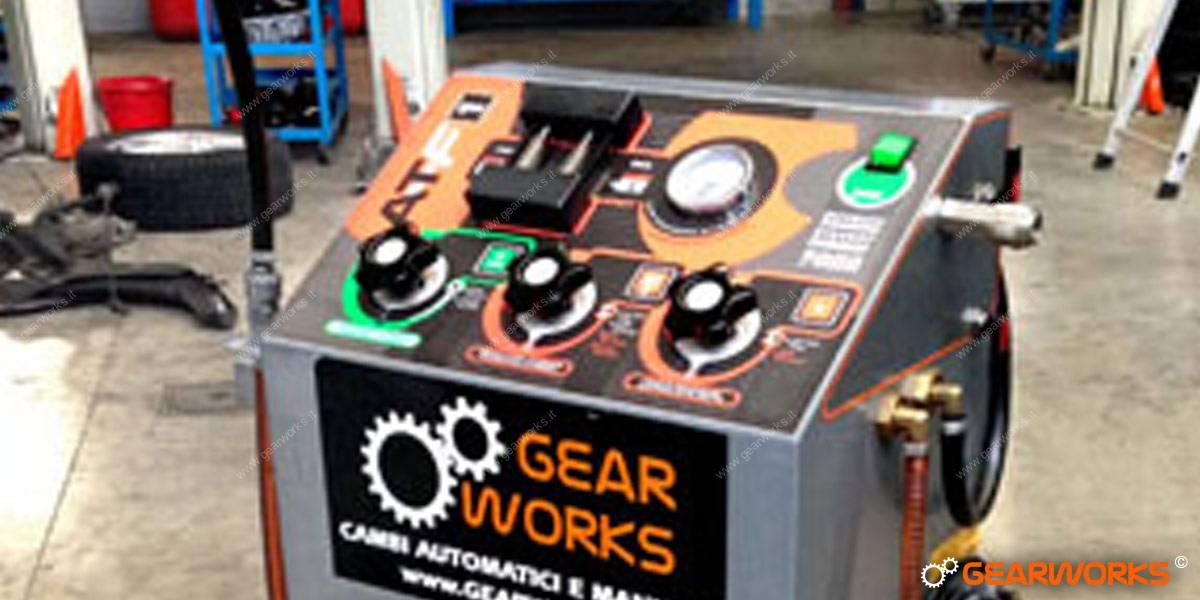 Attrezzature Gearworks - Macchina lavaggio cambi automatici