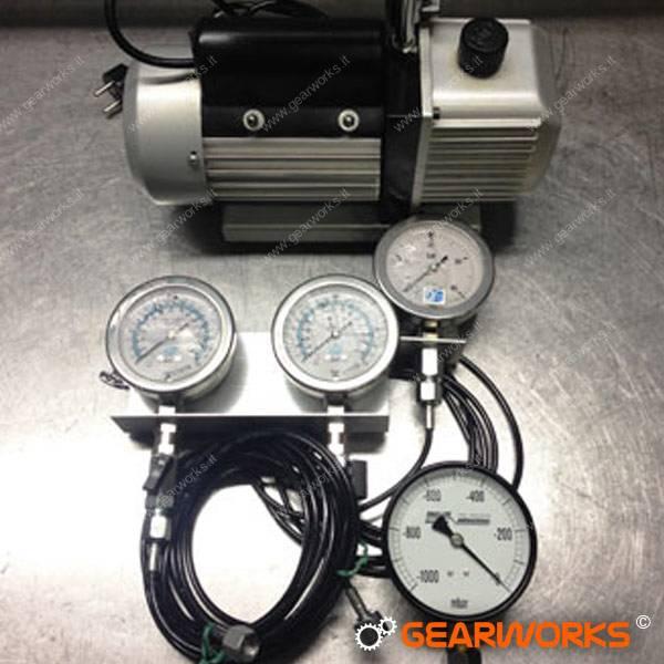 Attrezzature Gearworks - Vacuum test cambi automatici