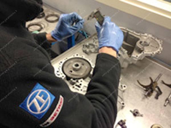 Gearworks - Misurazione tolleranze e allineamenti dei componenti del cambio manuale