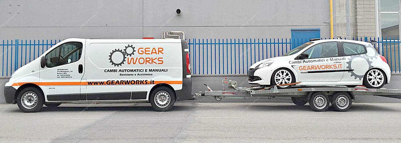 Gearworks Ritiro autovettura e ritiro cambio automatico rotto