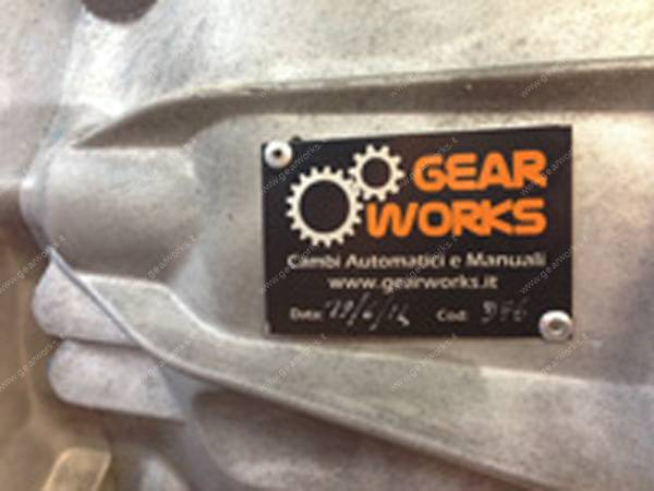 Targhetta identificativa Gearworks Bergamo
