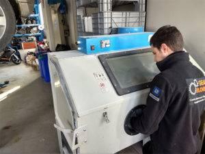 Sabbiatura campane cambio automatico - GEARWORKS Bergamo