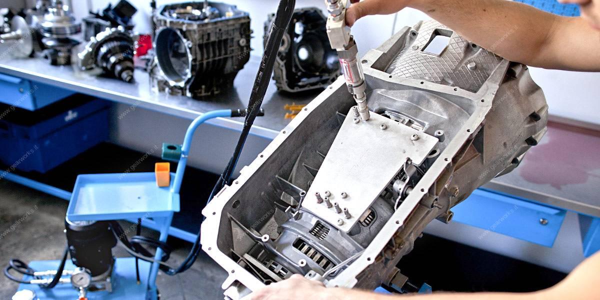 Attrezzature Gearworks - Banco prova pressioni cambi automatici